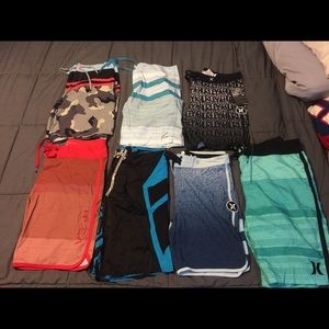 Men's Board Shorts Bundle (7)